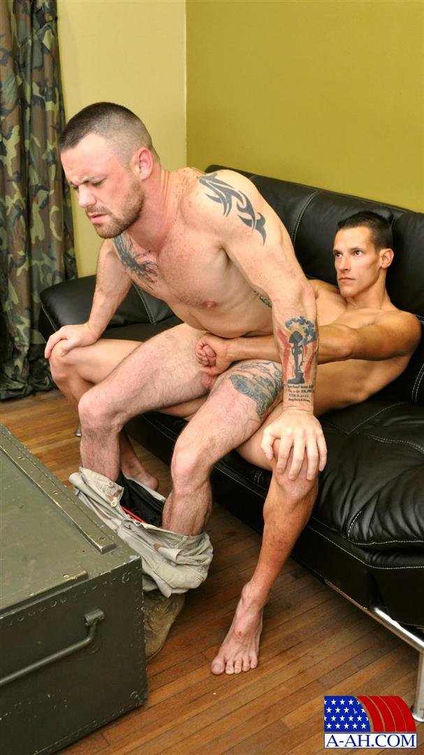 All-American-Heroes-Navy-Petty-Officer-Eddy-fucking-Army-Sergeant-Miles-Big-Uncut-Cock-Amateur-Gay-Porn-10 Navy Petty Officer Fucks A Muscle Army Sergeant