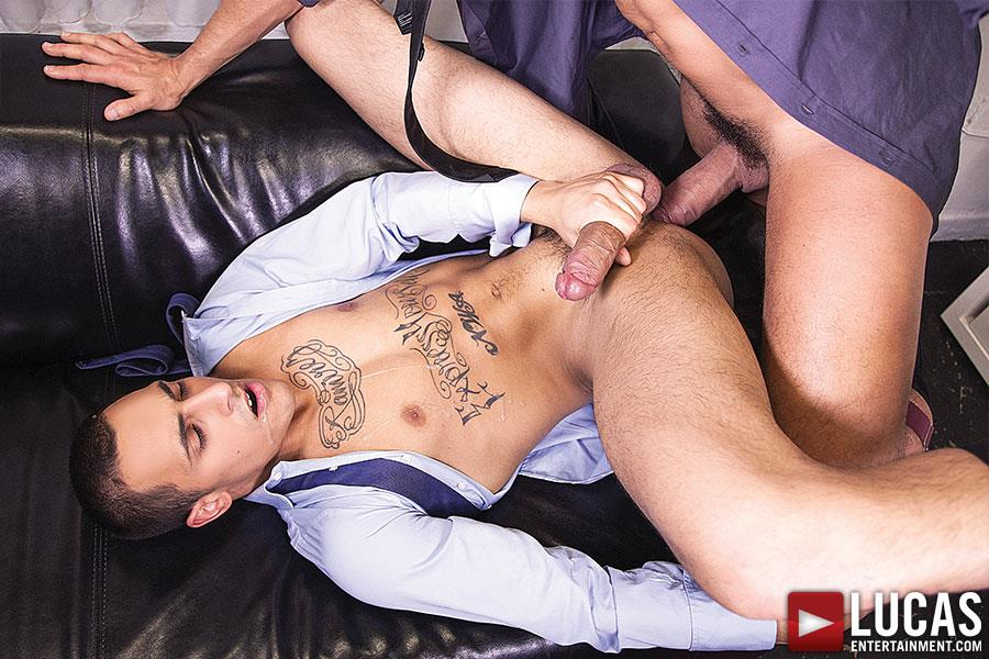 Lucas Entertainment Rafael Carreras and Rico Romero Big Uncut Cock Bareback Amateur Gay Porn 11 Rafael Carreras Barebacking Rico Romero With His Big Uncut Cock