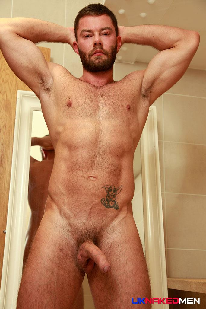 UK-Naked-Men-AJ-Alexander-and-Patryk-Jankowski-Big-Uncut-Cock-Bareback-Sex-Amateur-Gay-Porn-11 Hairy Muscle Hunk Gets Fucked By A Scottish Guy With A Big Uncut Cock