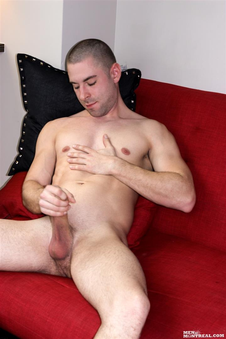 Men-of-Montreal-Cedrick-Dupuy-Hung-Muscle-Guy-With-Big-Uncut-Cock-Amateur-Gay-Porn-14 Canadian Hunk With A Big Uncut Cock Auditions For Gay Porn