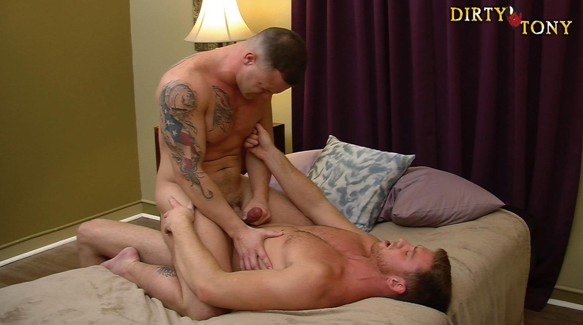 Dirty-Tony-Logan-Blake-and-Connor-Maguire-Marine-Getting-Fucked-In-the-Ass-Amateur-Gay-Porn-14 Former US Marine Takes A Big Uncut Cock Up The Ass