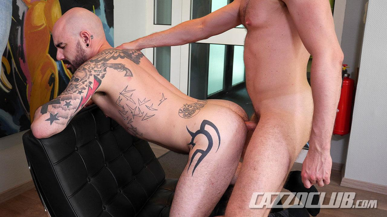 Cazzo-Club-Adam-Darcre-and-Matteo-Valentine-Bareback-Uncut-Cocks-Amateur-Gay-Porn-15 German Guys In Suits Fucking Bareback With Their Big Uncut Cocks