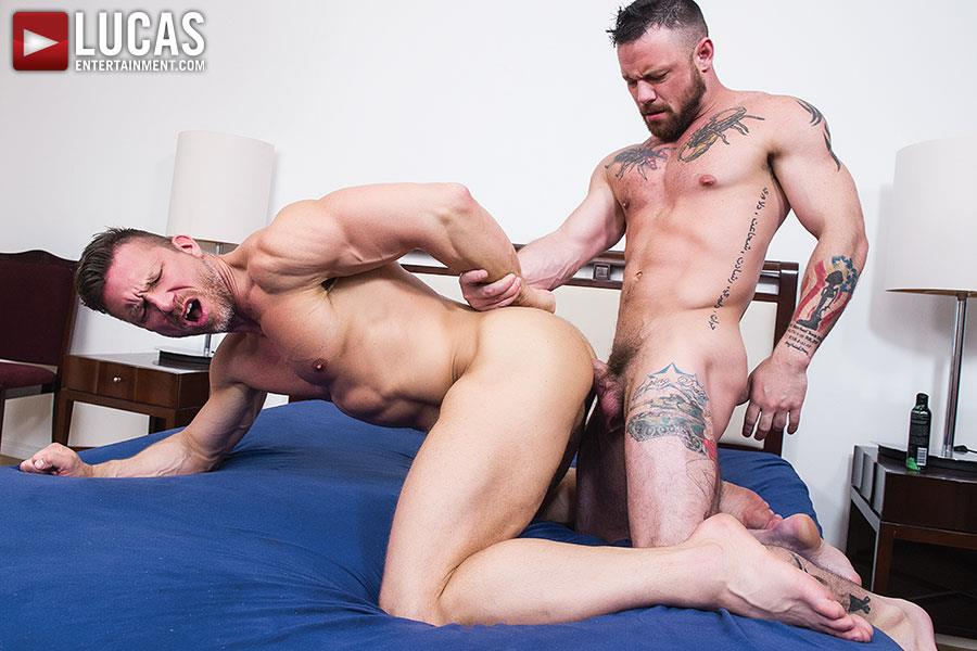 Lucas Entertainment Sergeant Miles and Tomas Brand Military Guy Gets Big Uncut Cock Bareback Amateur Gay Porn 09 Army Sergeant Miles Takes A Huge Uncut Bareback Cock Up His Tight Ass