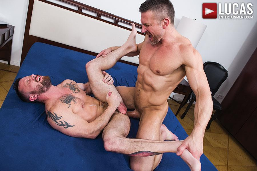 Lucas-Entertainment-Sergeant-Miles-and-Tomas-Brand-Military-Guy-Gets-Big-Uncut-Cock-Bareback-Amateur-Gay-Porn-12 Army Sergeant Miles Takes A Huge Uncut Bareback Cock Up His Tight Ass