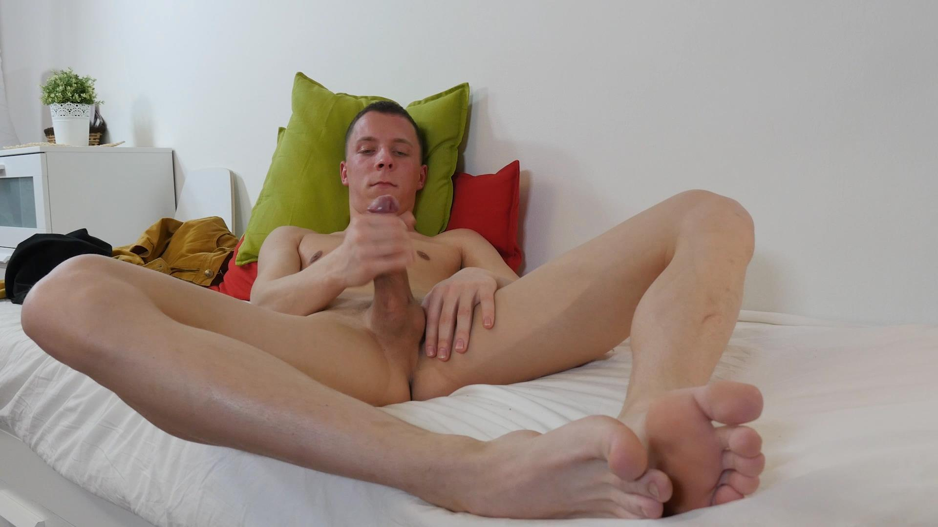 Twink-Boys-Party-Andrew-Kitt-Twink-With-Big-Uncut-Cock-Masturbation-Amateur-Gay-Porn-14 Twink Andrew Kitt Rubbing A Load Out Of His Big Uncut Cock