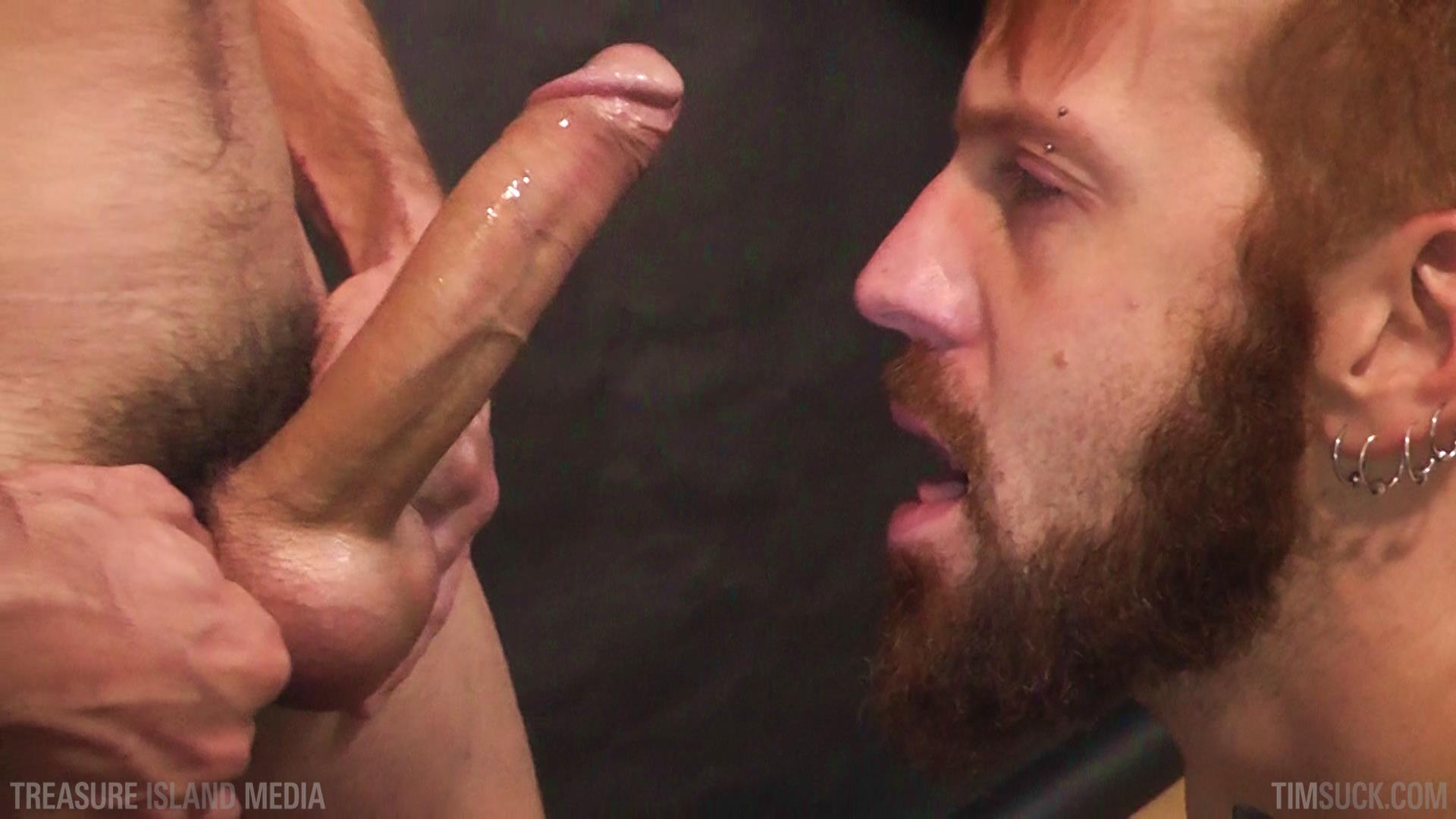 Treasure-Island-Media-TimSuck-Pete-Summers-and-Dean-Brody-Sucking-A-Big-Uncut-Cock-Amateur-Gay-Porn-47 Bearded Ginger Services A Big Uncut Cock And Eats The Cum