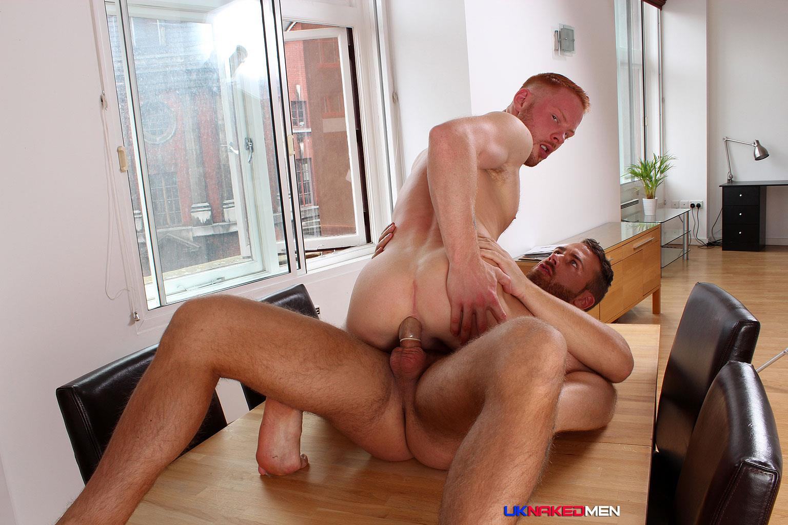 UK Naked Men Logan Moore and Andro Maas Redhead Gets Fucked By Big Uncut Cock Amateur Gay Porn 16 Redhead Andro Maas Takes A Big Thick Uncut Cock Up The Ass
