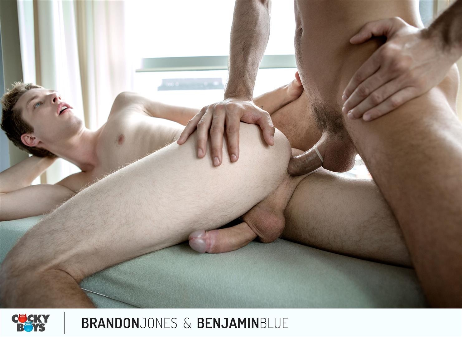 Cockyboys Benjamin Blue and Brandon Jones Flip Flop Fuck Amateur Gay Porn 20 Cockyboys: Benjamin Blue Tops Brandon Jones For The First Time