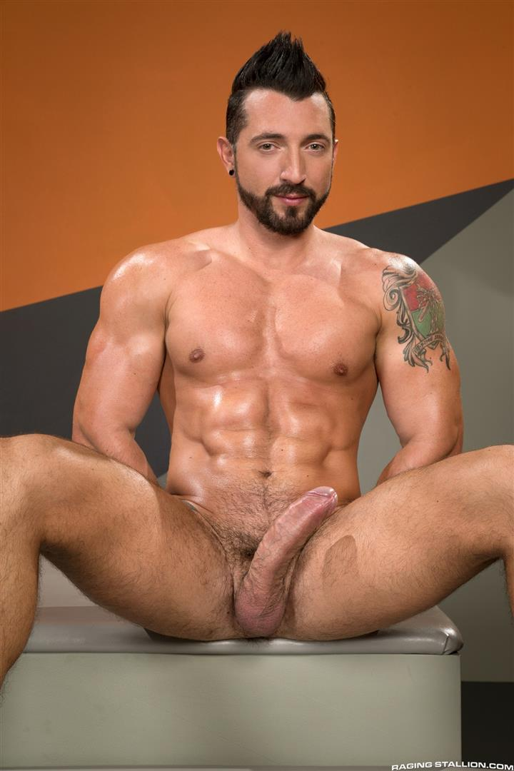 Raging Stallion Jimmy Durano and XL Interracial Gay Sex Video Free 02 Jimmy Durano Fucks XLs Black Ass With His Big Fat Cock